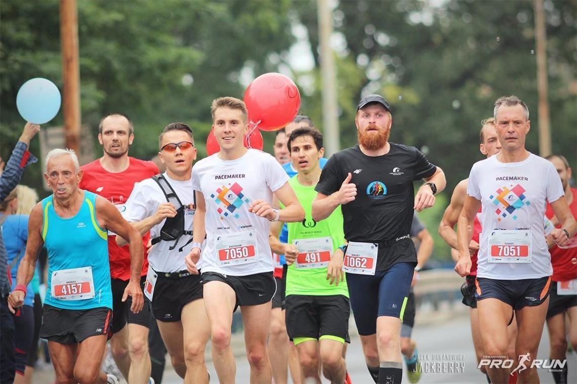 Prawdziwa euforia biegacza na 39 km! fot. Pro-Run